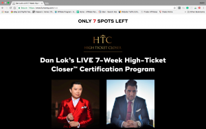 Dan Lok High Ticket Closer