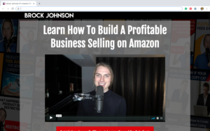Last Amazon Course Brock Johnson