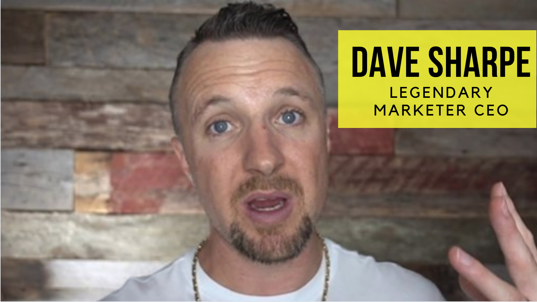 Dave Sharpe Legendary Marketer