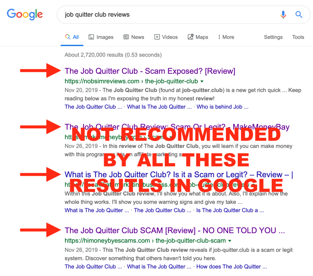Job Quitter Club Reviews On Google