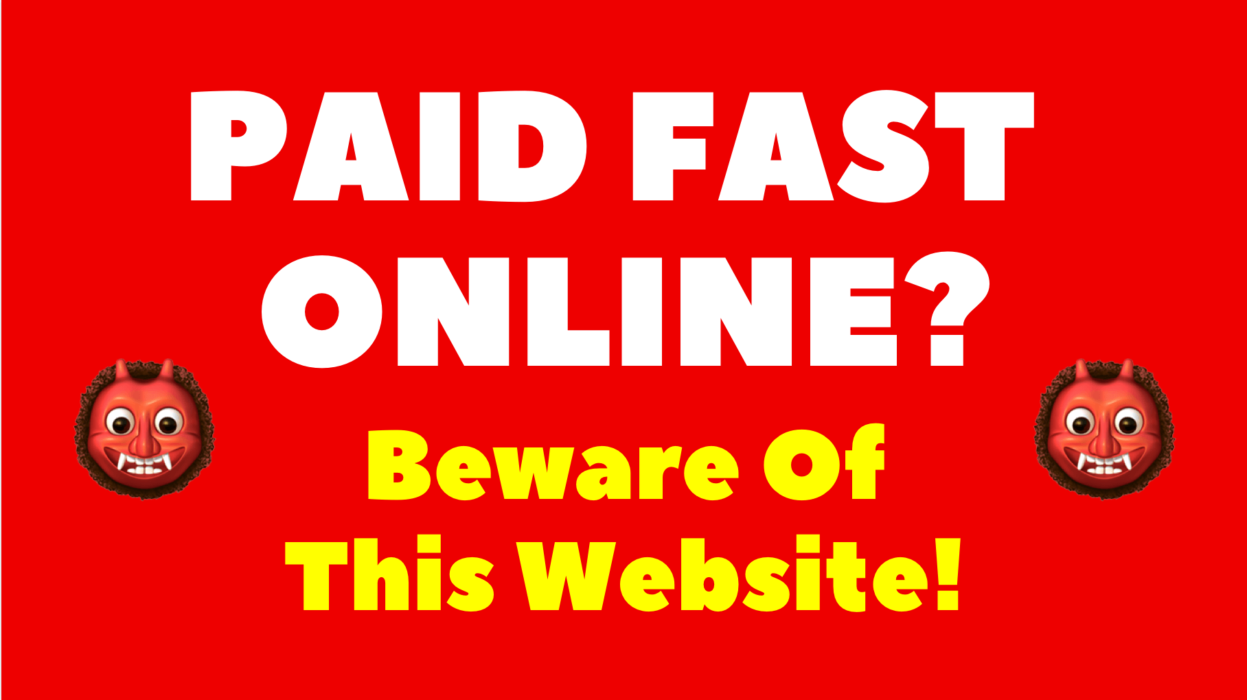 paid fast online